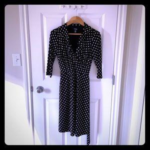 Chaps PolkaDot Dress